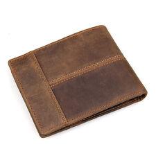 Mens wallet.leather wallet.Buffalo leather wallet.