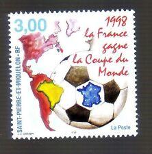 St Pierre et Miquelon * Neuf  *** Coupe du monde de Football - 1998 *** n° 683