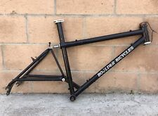 "Vintage Boulder Bicycles Defiant 22"" Mountain Bike Frame Very Rare USA Made"
