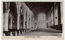 Manchester; Interior Of Over Church 970 RP PPC, By Chas Wilkinson
