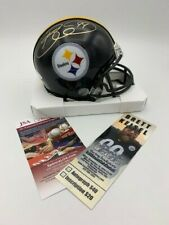 Brett Keisel Signed NFL Pittsburgh Steelers Mini Helmet JSA - Photo-Ticket LOOK