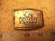 Karate Insecticide Brass Belt Buckle, For Cotton Plants, ICI Agriculture Product