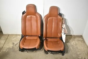 06-08 Mazda Miata Mx5 Copper Seats Seat Set Rh Lh Damage Aa6694