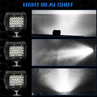 4inch 200W 20000LM LED Work Flood Spot Light 12V Off Road Truck Boat SUV Lamp KK