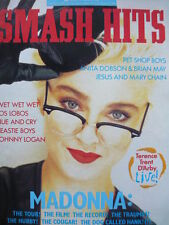 SMASH HITS 29/7/87 - MADONNA - PET SHOP BOYS - WET WET WET