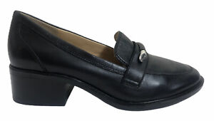 Naturalizer Womens Perla Slip-On Loafers Shoes Black Size 7.5M Free Shipping