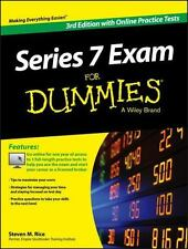 Series 7 Exam for Dummies, with Online Practice Tests by Steven M. Rice...