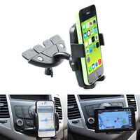 Mobile Smart Cell Phone GPS 360 Car Auto CD Slot Mount Cradle Holder Stand  IO