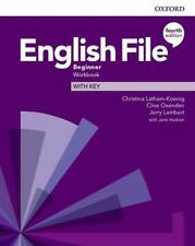 More details for oxford english file beginner workbook with key 4th edition new 9780194031165