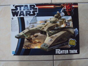 "STAR WARS REPUBLIC FIGHTER TANK CLONE WARS 2012 HASBRO 3.75"" TCW"