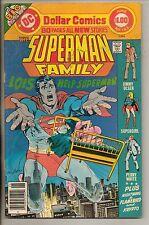 DC Comics Superman Family #183 June 1977 Giant Size Dollar Comic Very Rare F+
