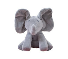 Peek-a-boo Animated Plush Elephant Musical Baby Peek A Boo Doll Soft Musical Toy