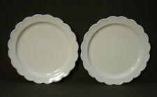 Two White Glass Plate for 1900/4373