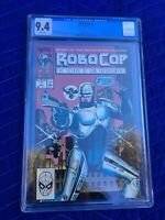 ROBOCOP #1! MARCH 1990 CGC 9.4 NM COMIC BOOK NEAR MINT NEVER READ CERTIFIED NEW