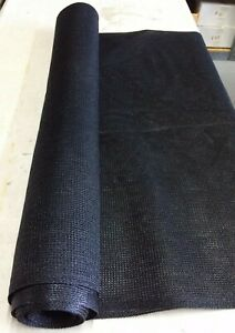 Sun Screen Shade Fabric Sun / Wind Block Canopy Animal Shelter BLACK NEW!