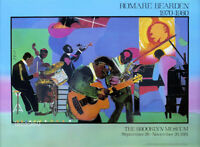 Romare Bearden Jamming At The Savoy Poster 22 x 31-1/2