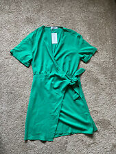 BNWT Gorgeous Jubylee Wrap Dress! Size 10, 12! Green! Autumn, Retro, Boho