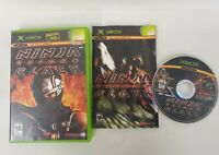 Ninja Gaiden Black (Microsoft Xbox) Complete Game Manual Fast Shipping