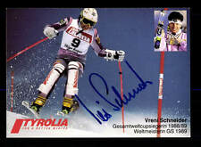 Vreni Schneider Autogrammkarte Original Signiert Ski Alpin + A 162954