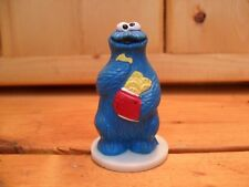 Vintage Sesame Street Cookie Monster PVC Figure Cake Topper Wilton