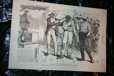 Harper's Weekly 10/21/1876 Full Page A Man encouraged to vote Democratic! Frost