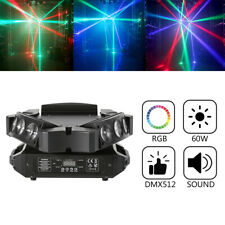 Moving Head Lights Beam Spider Light RGB Stage DMX 9LED Stage or 192CH Controlle