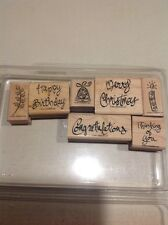 """Stampin' Up """"A Greeting for All Reasons""""                              j4"""