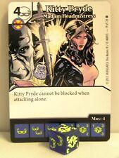 Dice Masters - 2x #019 Kitty Pryde señora Headmistress-X-Men First Class