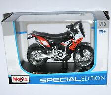 Maisto-ktm 450 rallye moto-modèle échelle 1:18