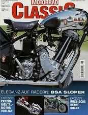 Motorrad Classic 6/02 2002 BSA Sloper CB 350 Four JAP UDSSR FB Mondial 175 TV