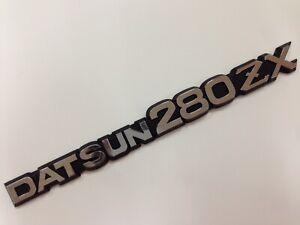 1 X New Vintage Style DATSUN 280ZX Emblem Replaces OEM Z Series 240Z 260Z