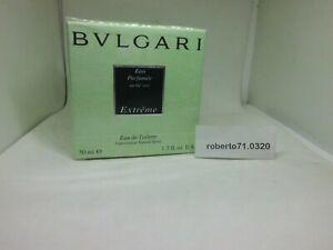 Bvlgari bEau Parfume' au the Vert Extreme Eau de Toilette ml 50 spray Rare Nuovo