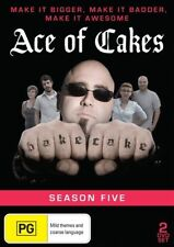 Ace Of Cakes - Season 5 - 2 Disc Set - New & Sealed All Region DVD - FREE POST