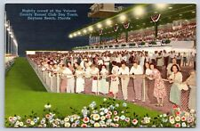 Nightly Crowd at Volusia County Kennel Club Dog Track Daytona, Florida Postcard