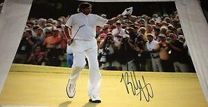Bubba Watson Masters Winner Hand Signed 11x14 Photo Autographed PGA Golf COA
