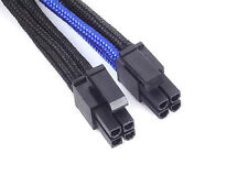 Silverstone SST-PP07-EPS8BA (1 x 8pin to EPS12V 8pin(4+4) connector, Black/Blue)