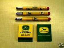 John Deere Bullet Pencils & Matchbook