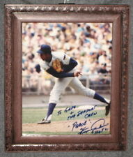 Fergie Jenkins Signed 8x10 photo framed Personalized  Autograph