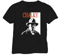 Boardwalk Empire Chalky White Gangster TV Black T Shirt
