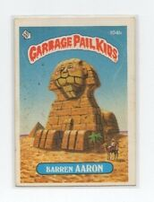 Barren Aaron Garbage Pail Kids Card # 104 B   NEXT DAY SHIP AFTER PAYMENT