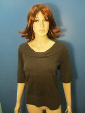 size X brown knit top blouse by CJ BANKS