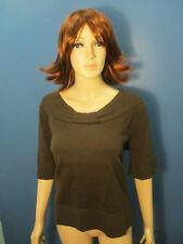 size X brown knit top blouse by CJ BANKS