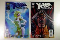 Marvel X-MEN ORIGINS WOLVERINE #1 One-Shot +EMMA FROST #1 One-Shot NM Ships FREE