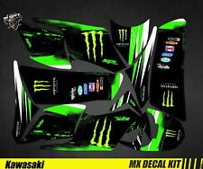 Kit Déco Quad / Atv Decal Kit Kawasaki KFX 700 - Monster