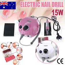 15W Electric Manicure Nail Art File Drill Machine Nail Drill 30000 Rpm Kit Set