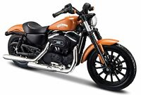 Maisto 1:18 Harley Davidson 2014 Sportster IRON 883 MOTORCYCLE BIKE Model Toy