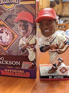 """BO JACKSON Collectors Negro Leagues Baseball """"KC"""" Bobblehead Series NIB!"""