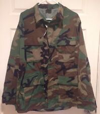 US Woodland Camouflage Combat Coat Medium Long 8415-01-084-1648
