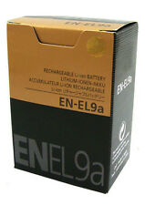 BATTERY EN-EL9A FOR NIKON D40 D60 D40X D3000 D5000 delivery by registered mail