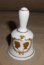 Mini Commemorative Wedding Bell - Prince Charles & Lady Diana 7/29/81 - Nice